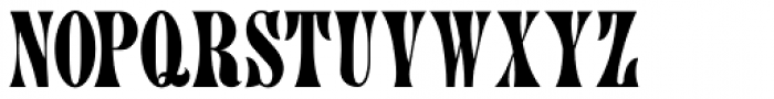 Painters Roman NF Font UPPERCASE