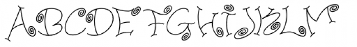 Paisley One Font UPPERCASE