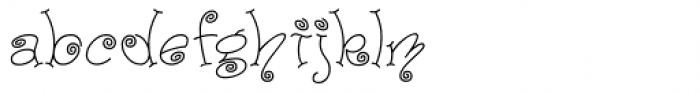 Paisley One Font LOWERCASE