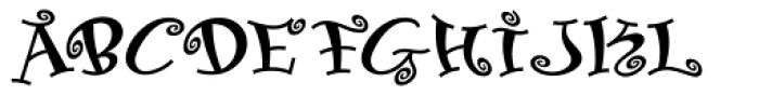 Paisley Two Font UPPERCASE