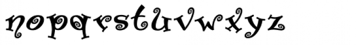 Paisley Two Font LOWERCASE