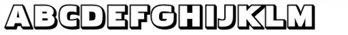 Pakenham Boss Font UPPERCASE