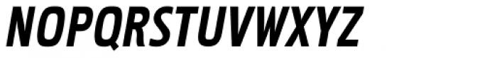 Pakenham Cond Bold Italic Font UPPERCASE