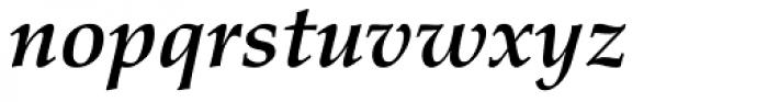 Palatino Bold Italic Old Style Figures Font LOWERCASE