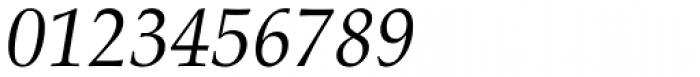 Palatino Italic Font OTHER CHARS