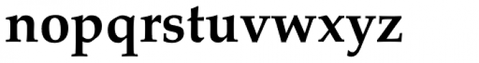 Palatino Linotype Bold Font LOWERCASE