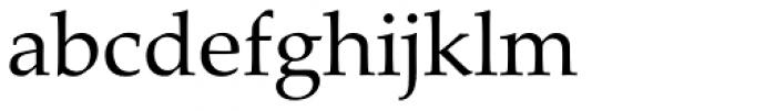 Palatino Linotype Font LOWERCASE
