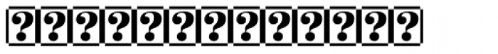 Palatino Sans Com Ultra Light Arrows Font UPPERCASE