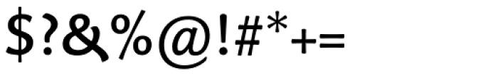 Palatino Sans Informal Medium Font OTHER CHARS