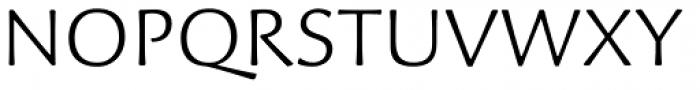 Palatino Sans Light Font UPPERCASE