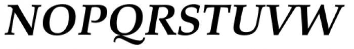 Palatino eText Bold Italic Font UPPERCASE