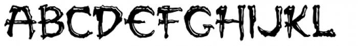 Paleos Font UPPERCASE