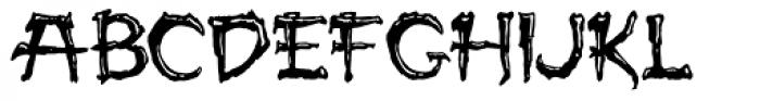 Paleos Font LOWERCASE