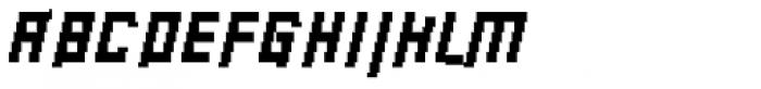 Palindrome Italic Font UPPERCASE