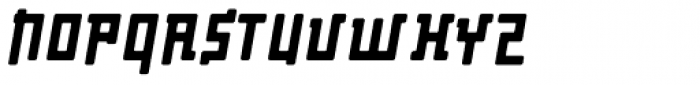 Palindrome Round Slant Font UPPERCASE