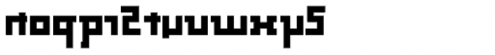 Palindrome Square Mirror Font LOWERCASE