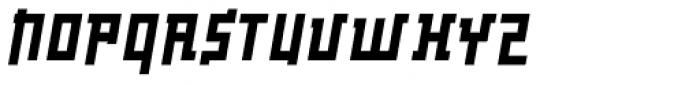 Palindrome Square Slant Font UPPERCASE