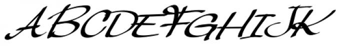 Palisade Bold Italic Font UPPERCASE