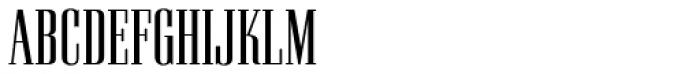 Pall Mall RR Light Font UPPERCASE