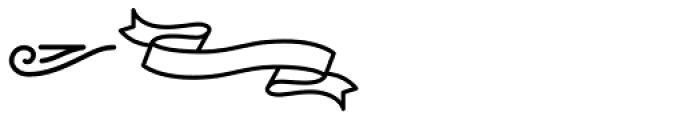 Palm Canyon Drive Bonus Glyphs Heavy Font UPPERCASE
