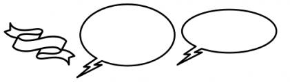 Palm Canyon Drive Bonus Glyphs Heavy Font LOWERCASE