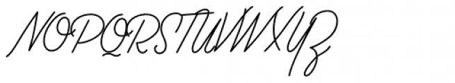 Palm Canyon Drive Thin Font UPPERCASE
