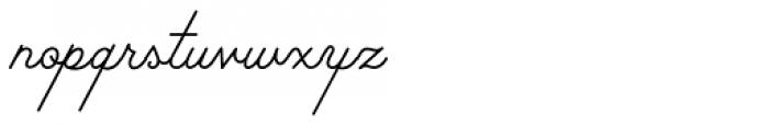Palm Canyon Drive Thin Font LOWERCASE