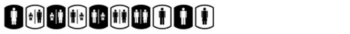 Palm Icons Signs Font OTHER CHARS