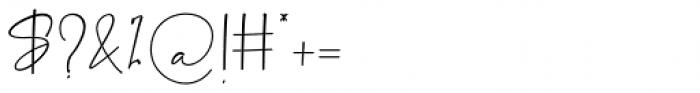 Palmaton Regular Font OTHER CHARS