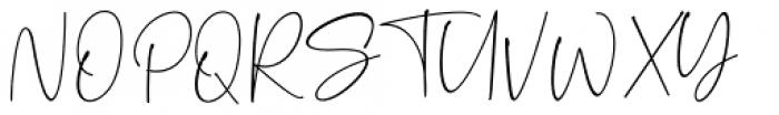 Palmaton Regular Font UPPERCASE