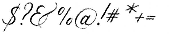 Palomino Script Font OTHER CHARS