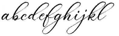 Palomino Script Font LOWERCASE