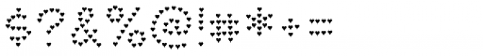 Paltime Heart Font OTHER CHARS