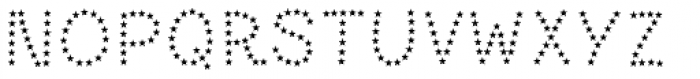 Paltime Star Font LOWERCASE