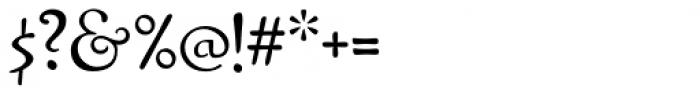 Pamplemousse Light Font OTHER CHARS