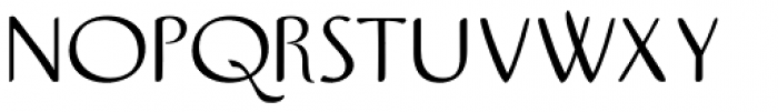 Pamplemousse Light Font UPPERCASE