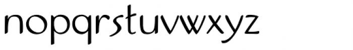 Pamplemousse Light Font LOWERCASE