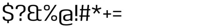 Pancetta Pro Regular Font OTHER CHARS