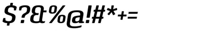Pancetta Serif Pro SemiBold Italic Font OTHER CHARS