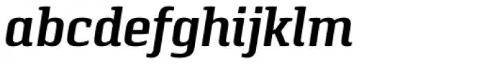Pancetta Serif Pro SemiBold Italic Font LOWERCASE