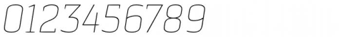 Pancetta Serif Pro Thin Italic Font OTHER CHARS
