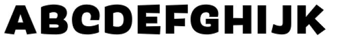 Pancho Bold Font UPPERCASE