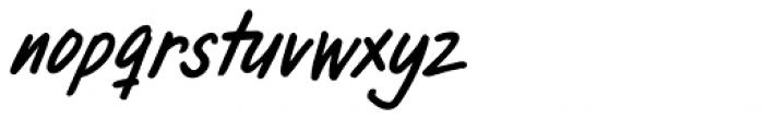 Pandanus Italic Font LOWERCASE