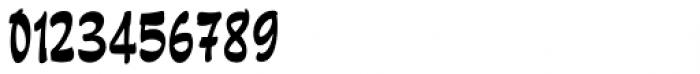 Pando Script Regular Font OTHER CHARS
