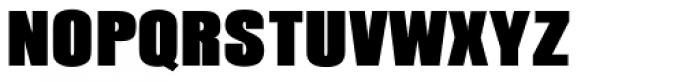 Pandora URW Black Font UPPERCASE