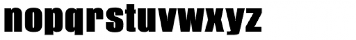 Pandora URW Black Font LOWERCASE