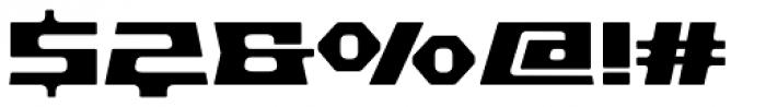 Pandorum Bold Font OTHER CHARS