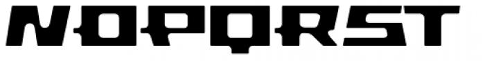 Pandorum Bold Font UPPERCASE