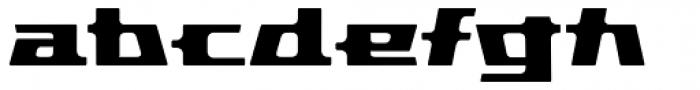 Pandorum Bold Font LOWERCASE