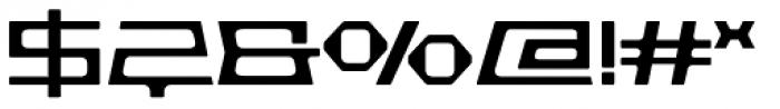 Pandorum Light Font OTHER CHARS